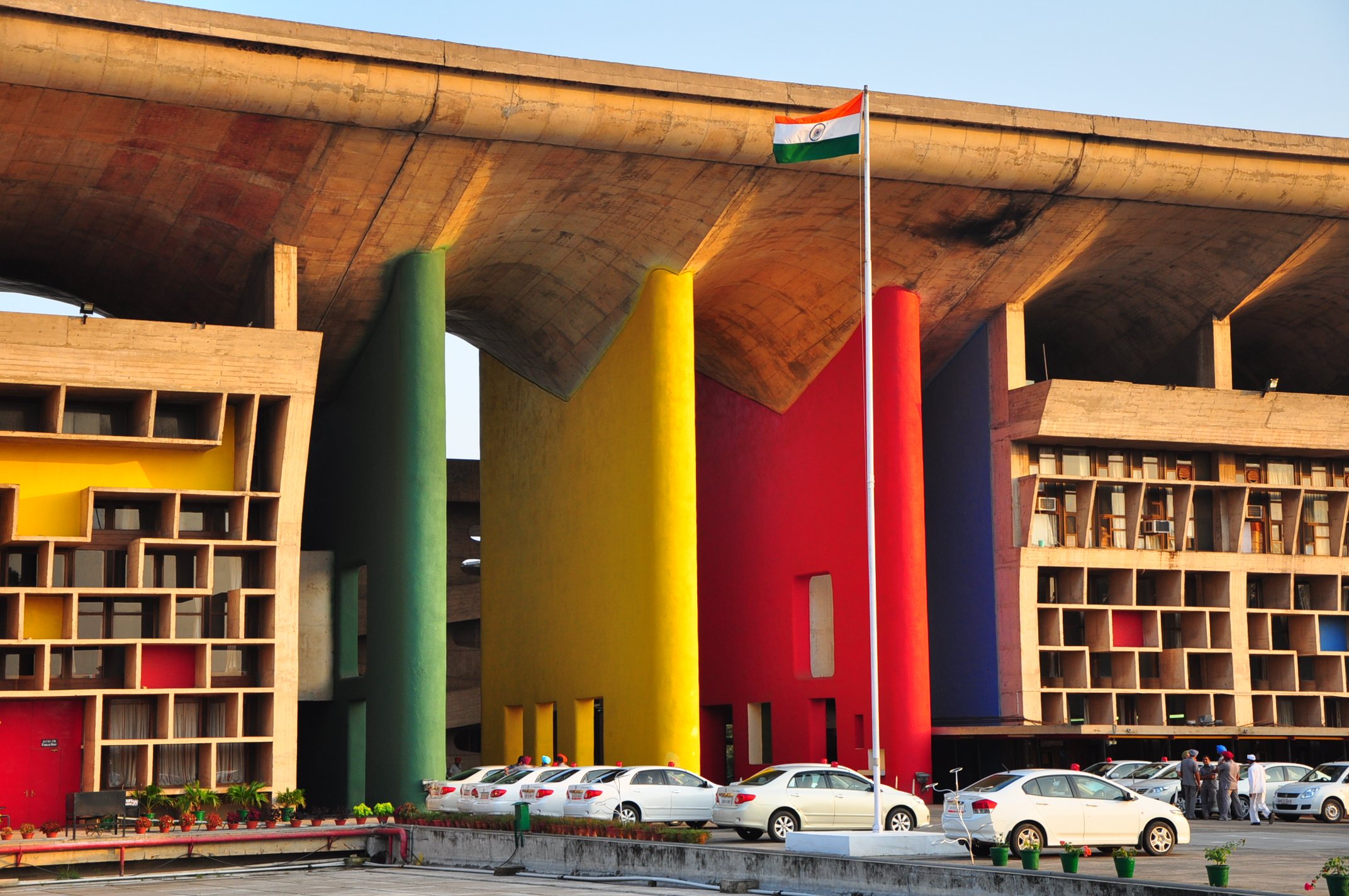 India Chandigarh Modernist City Planned With The Help Of Le
