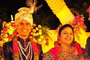 Married and fabulous: Alekh and Barkha