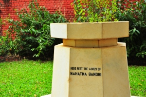 Shrine for Gandhi: Where the leader's ashes were laid to rest