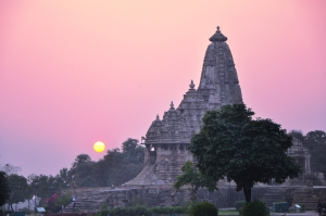 Once the sun never set on the British Empire, but it does at Khajuraho