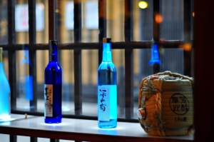 True brew: Sake bottles at a distillery and restaurant in Takayama